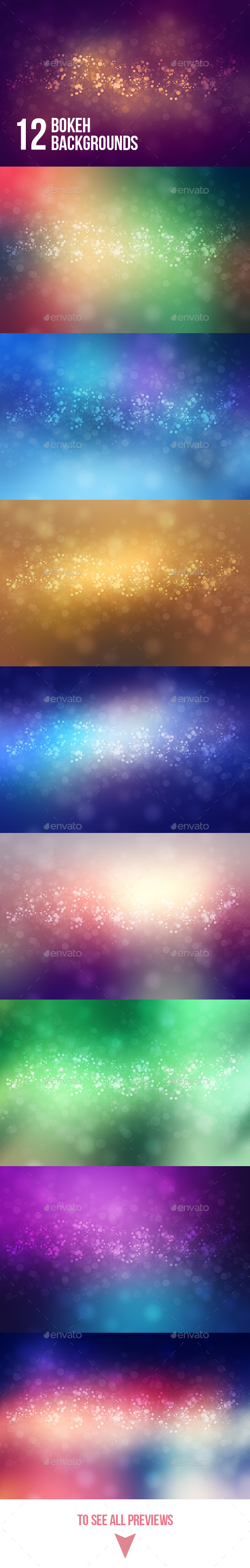 GraphicRiver Abstract Bokeh Backgrounds 9302970
