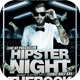 Hipster Night Flyer Template - GraphicRiver Item for Sale