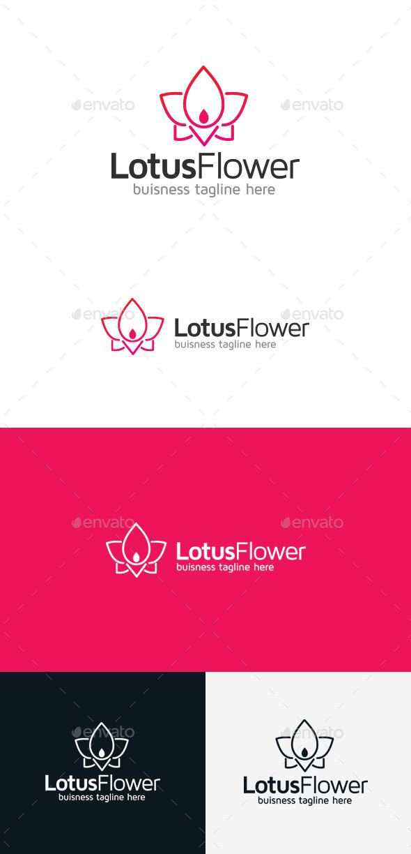 GraphicRiver Lotus Flower 9303776