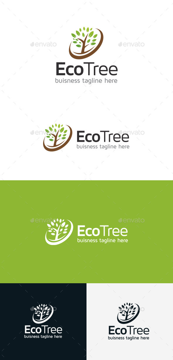 GraphicRiver Tree Logo 9303864