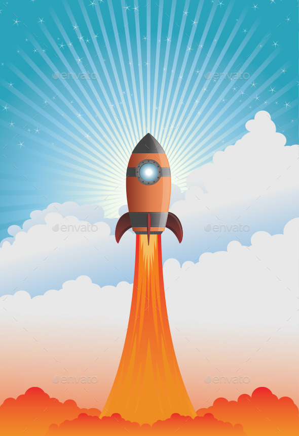 GraphicRiver Rocket 9304054