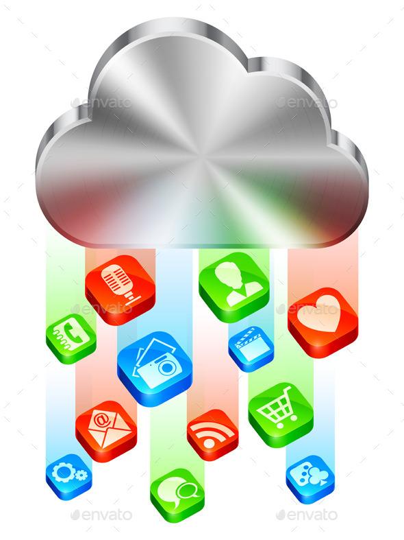 GraphicRiver Cloud Concept 9304183