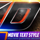 7 Movie Text Style Premium - GraphicRiver Item for Sale