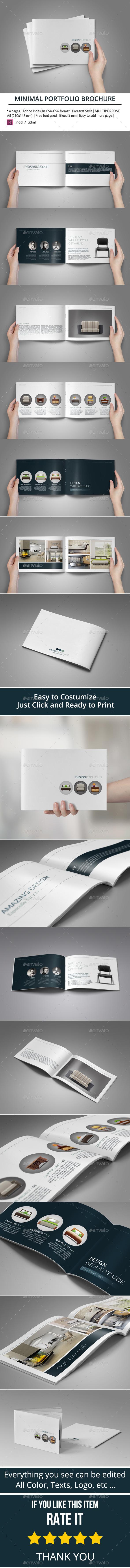 GraphicRiver Minimal Portfolio Brochure 9305493