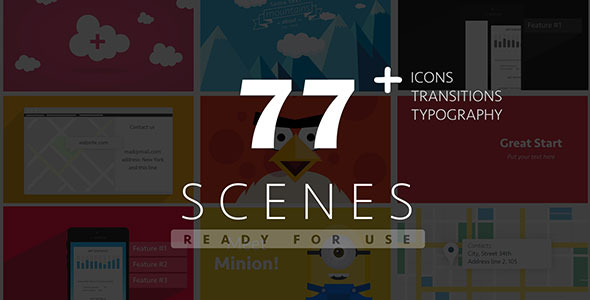 77 Ready For Use Scenes