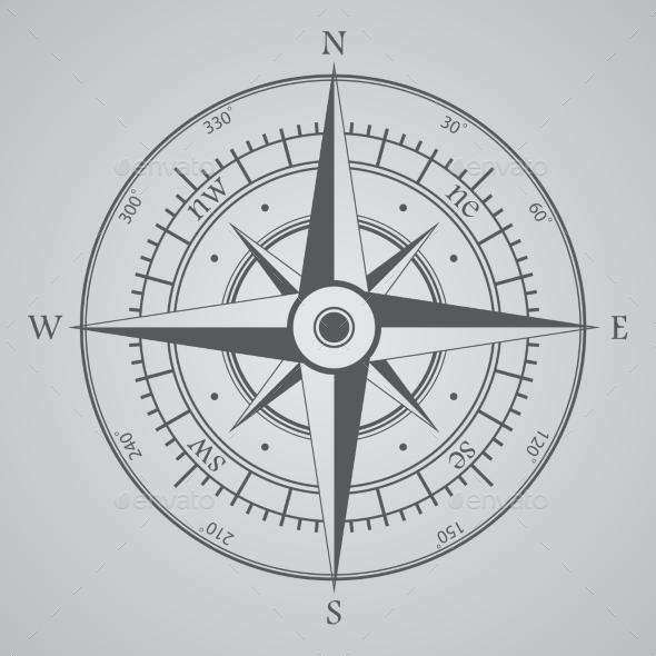 GraphicRiver Compass Background 9306448