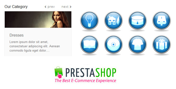 CodeCanyon Responsive Category Carousel for Prestashop 9306621