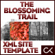 The Blossoming Trail XML Site Template - ActiveDen Item for Sale