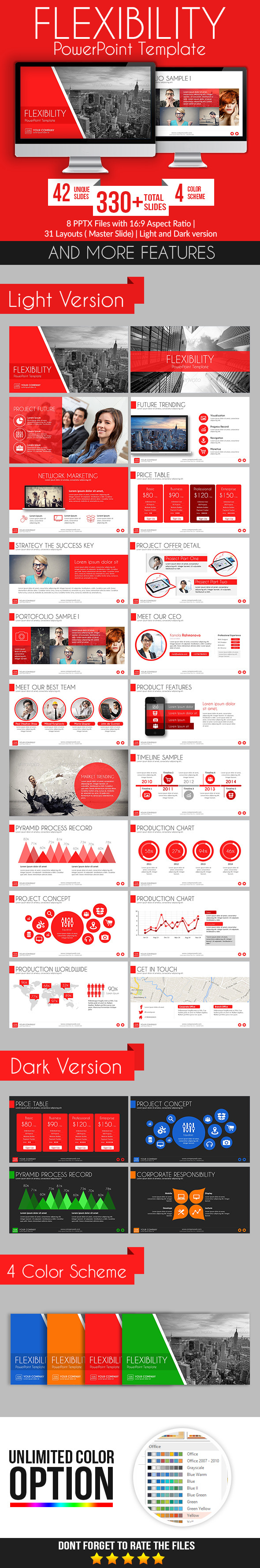 GraphicRiver Flexibility PowerPoint Template 9266045