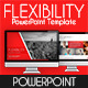 Flexibility PowerPoint Template - GraphicRiver Item for Sale