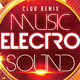Music Electro Sound Party Flyer - GraphicRiver Item for Sale