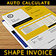 Shape Invoice - GraphicRiver Item for Sale