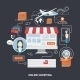 Vector flat design shopping concept - GraphicRiver Item for Sale