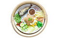 Fried rice with Shrimp paste, Thai style food. - PhotoDune Item for Sale