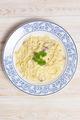 Pasta Carbonara on wood table - PhotoDune Item for Sale