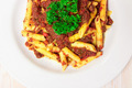 Penne pasta with a tomato bolognese beef sauce - PhotoDune Item for Sale