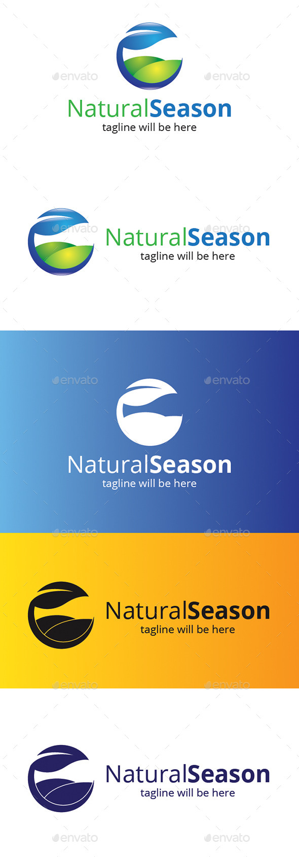 GraphicRiver Natural Season 9308695