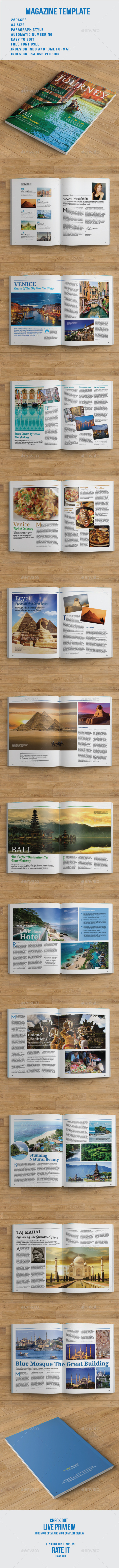 GraphicRiver Journey Magazine 9308829