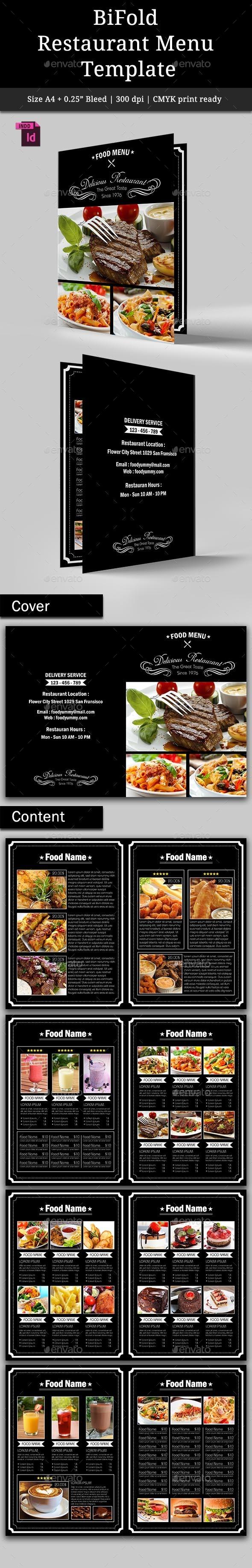 GraphicRiver BiFold Restaurant Menu Vol 2 9309042