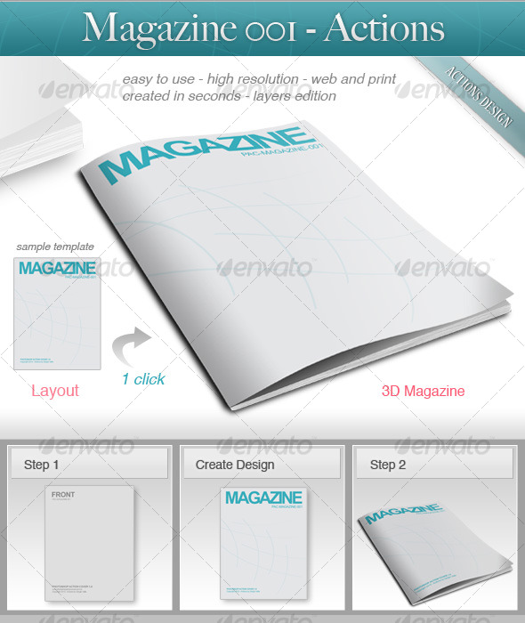 GraphicRiver Magazine 001 119576
