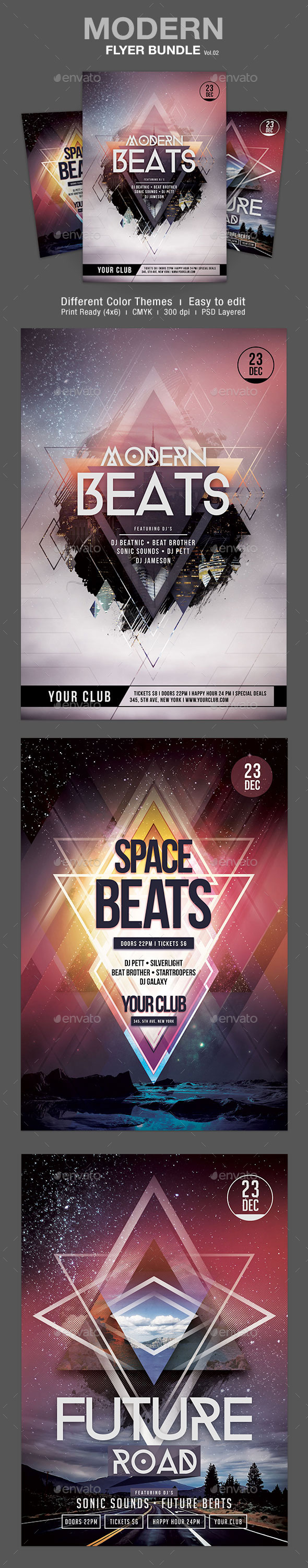 GraphicRiver Modern Flyer Bundle Vol.02 9309959