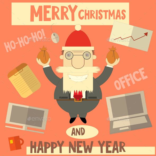 GraphicRiver Merry Christmas Greeting Card 9310193