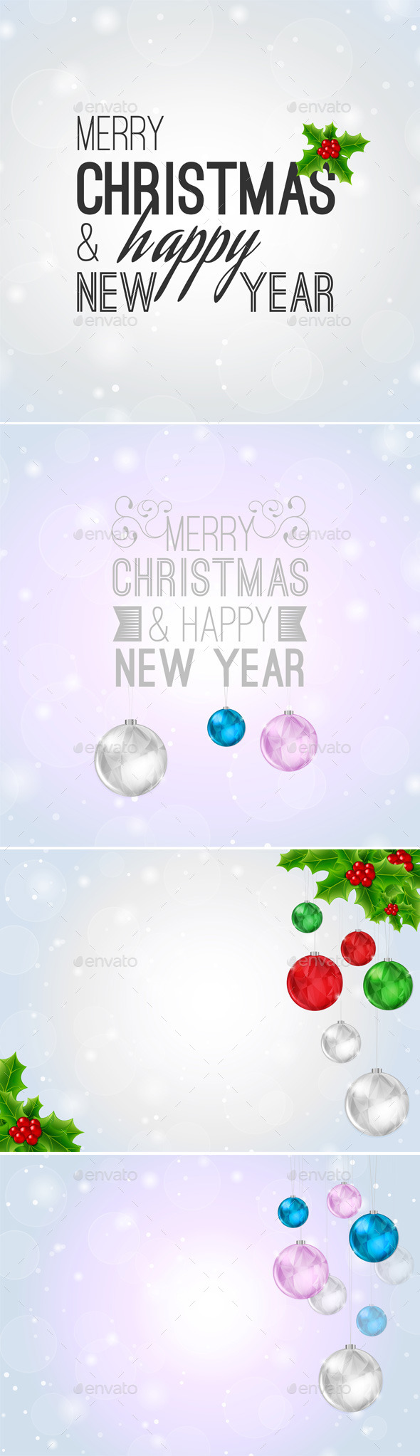 GraphicRiver Christmas Backgrounds 9310639