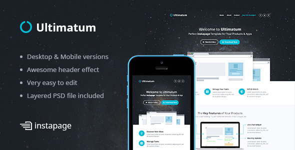 Ultimatum Instapage Template Download