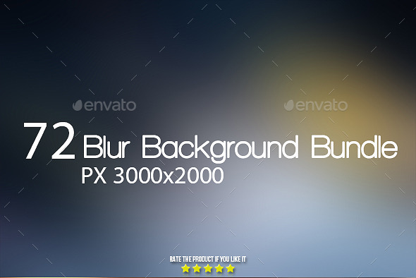 GraphicRiver 72 Smooth Blur Background Bundle 9310716