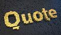 Quote cubics - PhotoDune Item for Sale