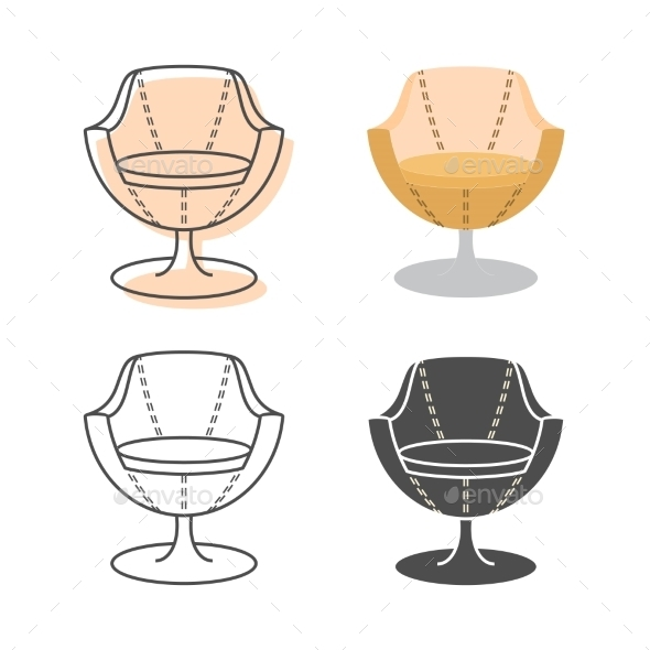 GraphicRiver Armchairs 9310738