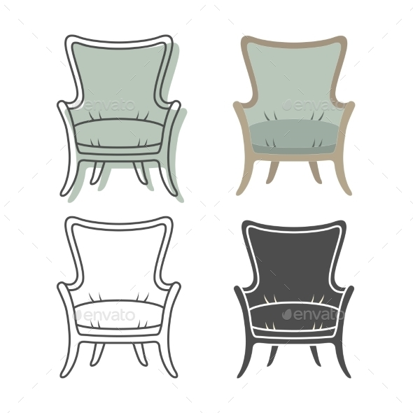 GraphicRiver Armchairs 9310741