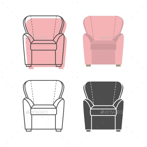 GraphicRiver Armchairs 9310742