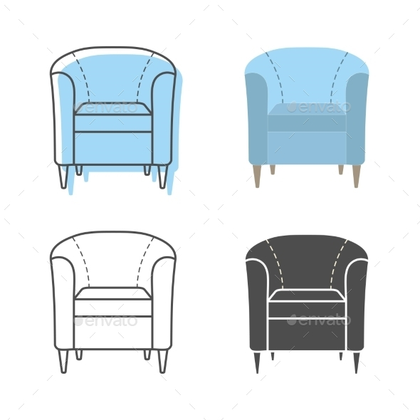 GraphicRiver Armchairs 9310743