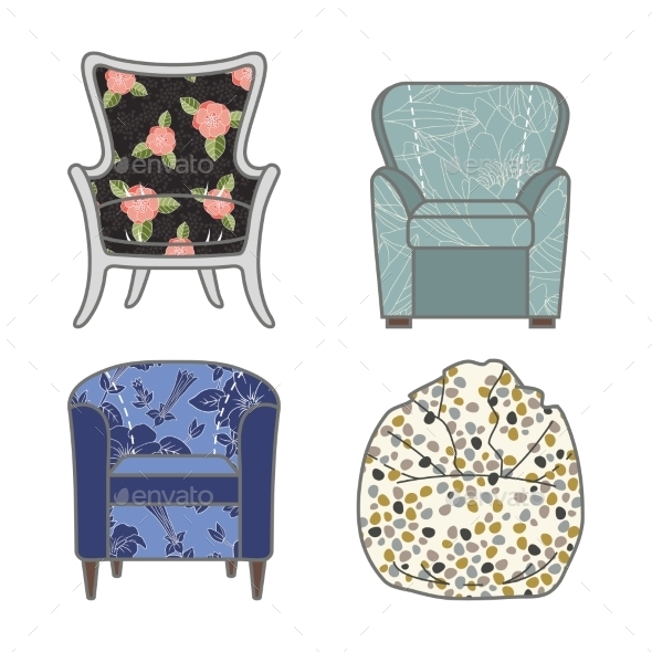 GraphicRiver Armchairs 9310749