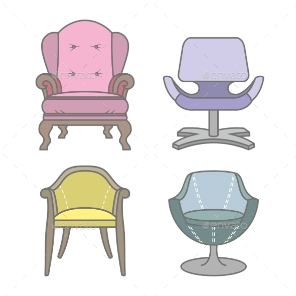 GraphicRiver Armchairs 9310750
