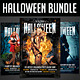 Halloween Party Flyers Bundle - GraphicRiver Item for Sale