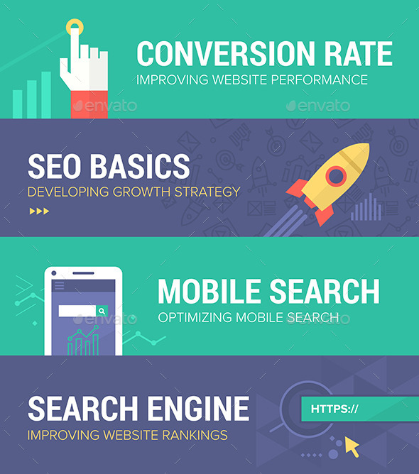 GraphicRiver Seo Banners 9310929