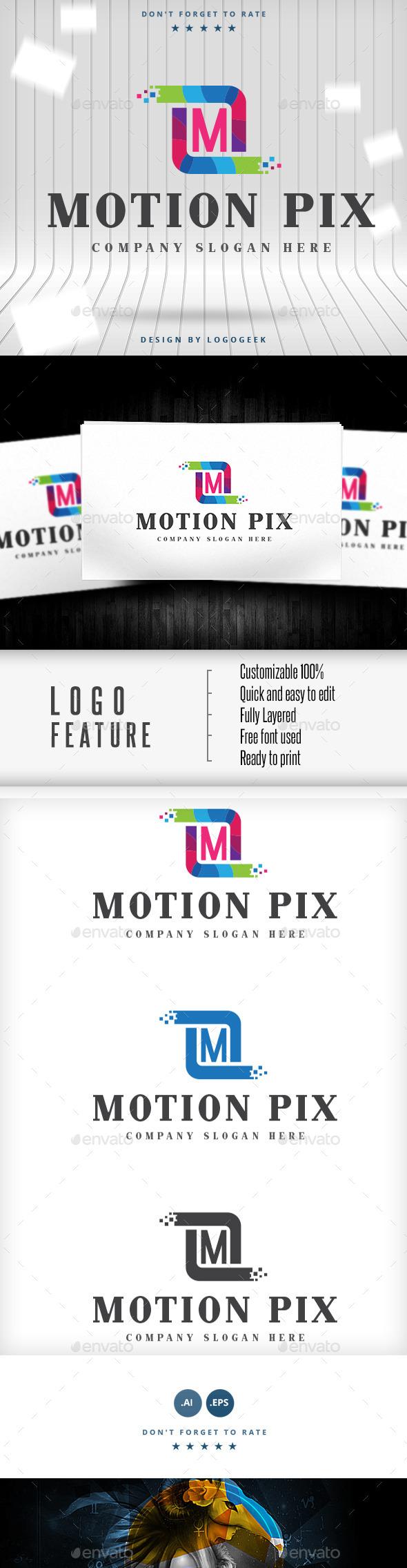 GraphicRiver M Letter Logo 9311191