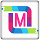 M Letter Logo - GraphicRiver Item for Sale