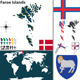 Map of Faroe Islands - GraphicRiver Item for Sale