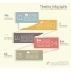 Retro Infographics with Elements and Icons - GraphicRiver Item for Sale