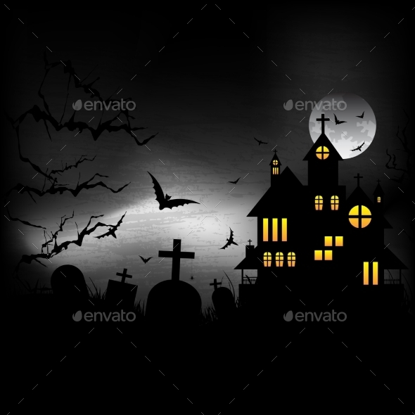 GraphicRiver Halloween Castle 9311824