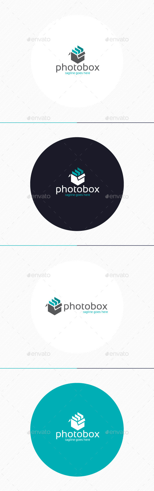 GraphicRiver Photo Box Logo 9311884