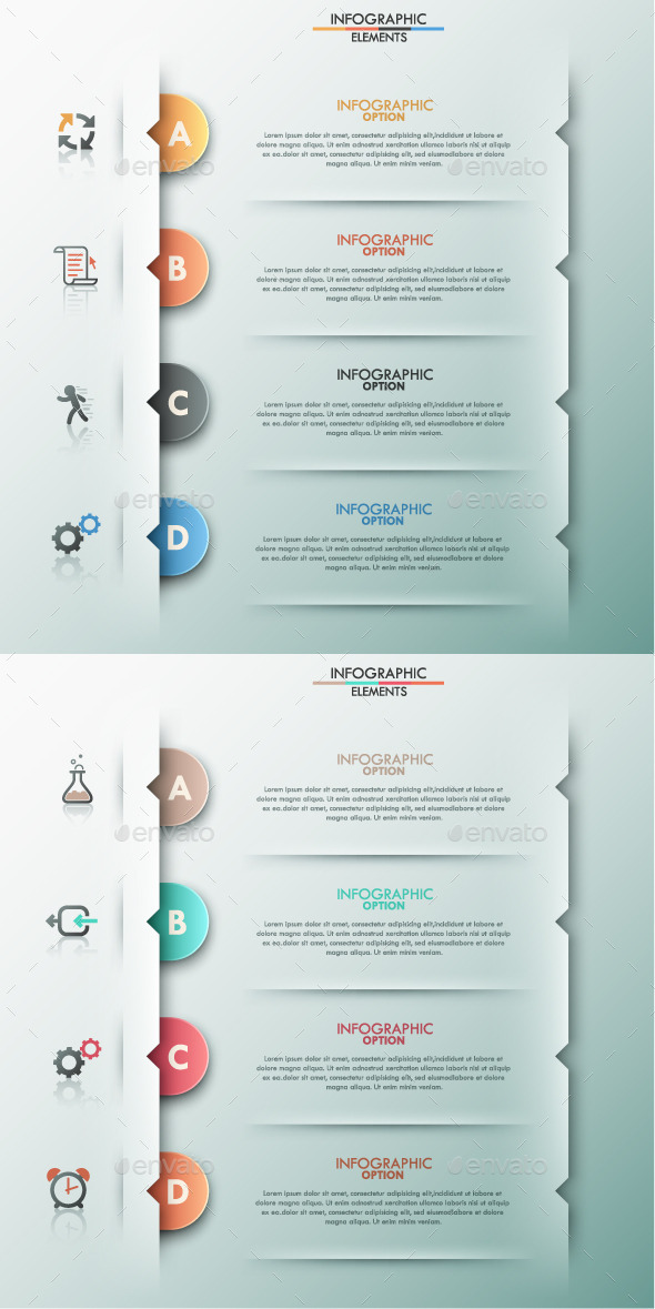 GraphicRiver Modern Infographic Options Template 2 Items 9311890