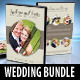 6 in 1 Wedding DVD Cover & Disc Label Bundle - GraphicRiver Item for Sale