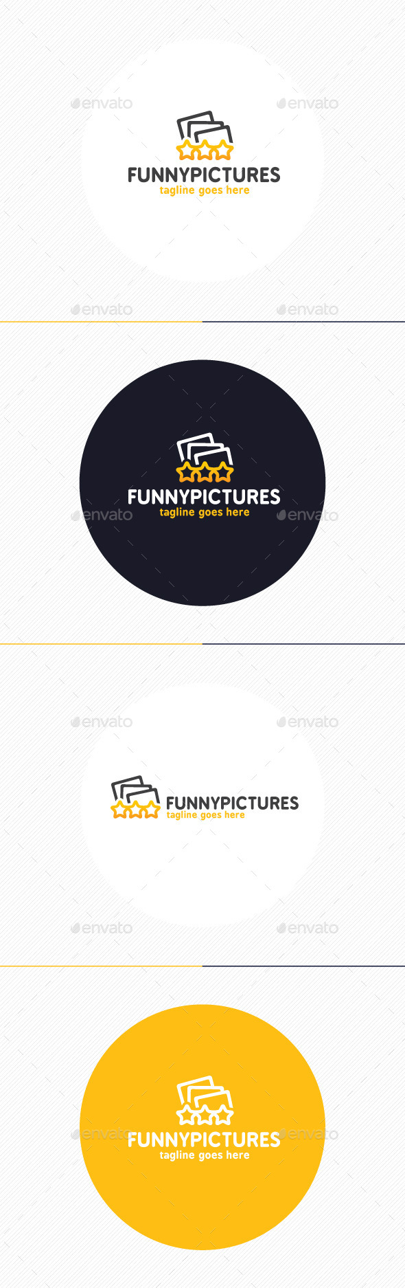 GraphicRiver Funny Pictures Logo 9312246