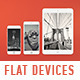 Flat-style Devices Mock-Up (PSD) - GraphicRiver Item for Sale