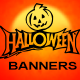Halloween Web ad Banners - GraphicRiver Item for Sale