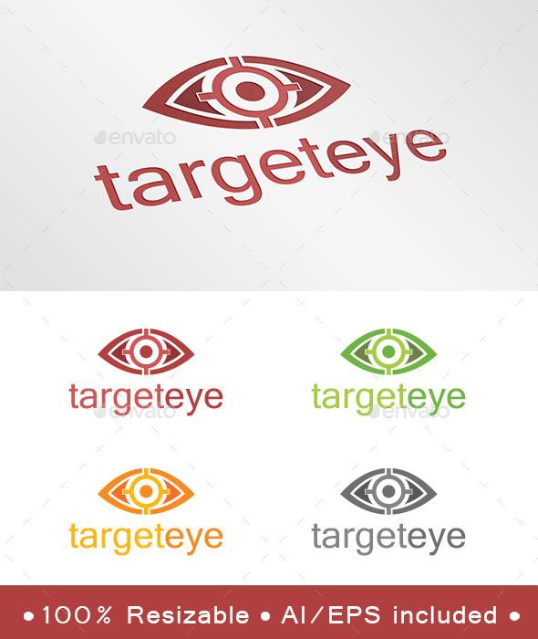 GraphicRiver Target Eye Logo 9238964